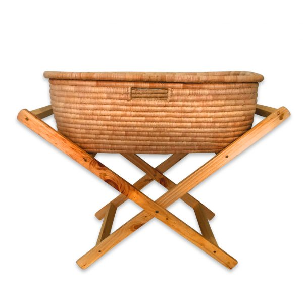 Bubs Moses Basket and foldable stand